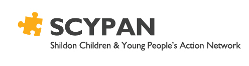 SHILDON CHILDREN AND YOUNG PEOPLE'S ACTION NETWORK LOGO