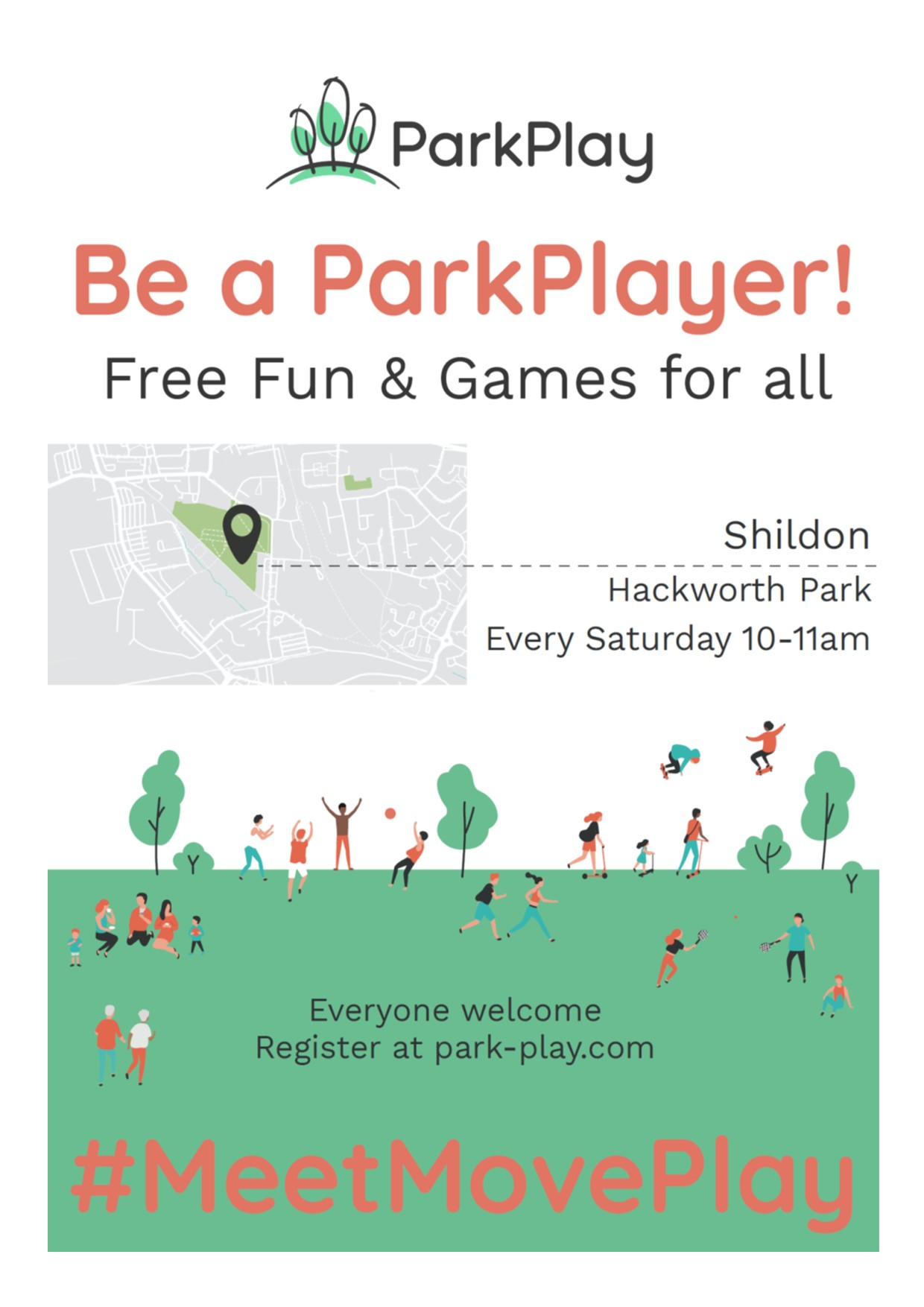 Poster to be a ParkPlayer