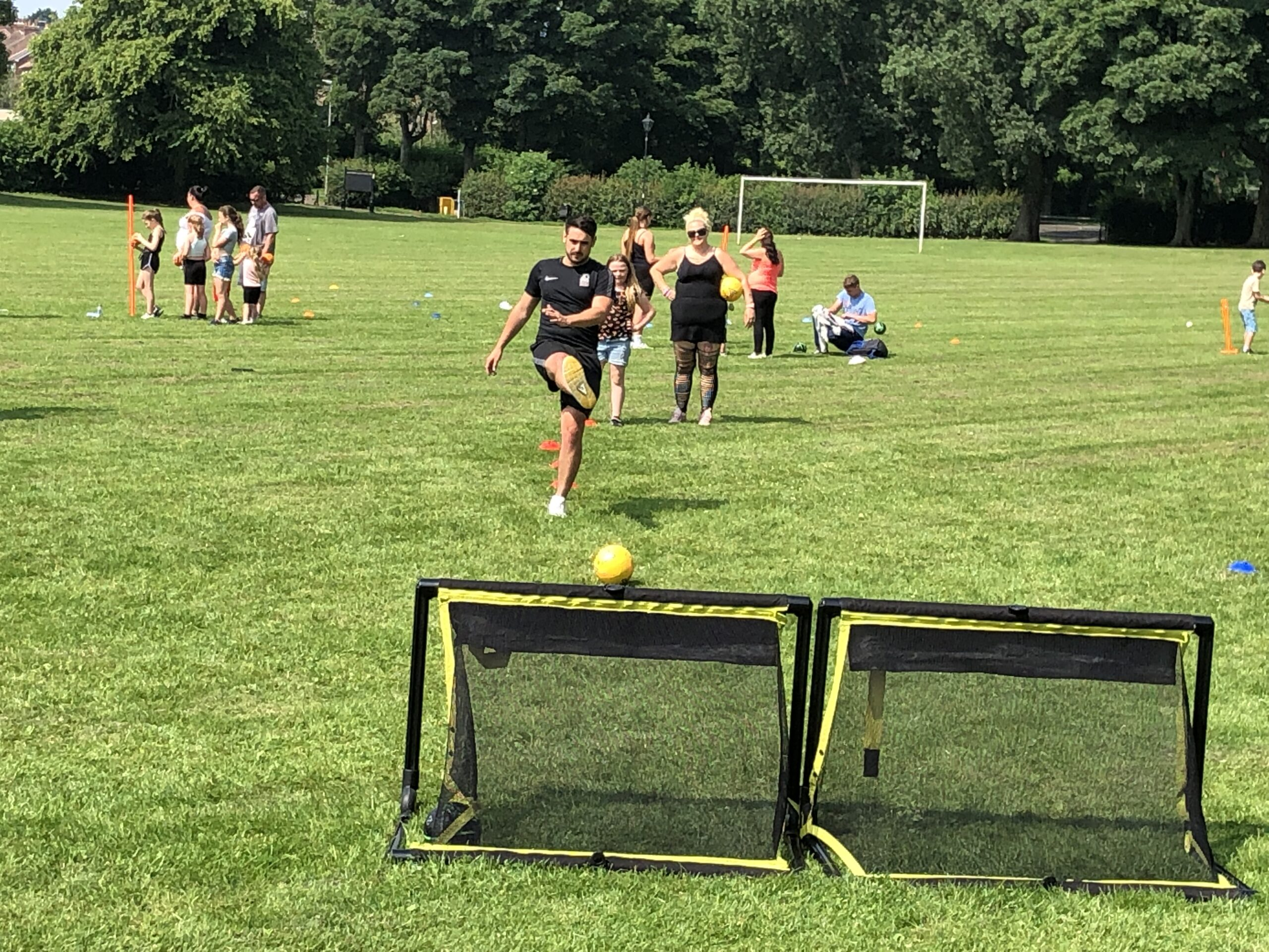 Image of Sports Coach demonstrating activity