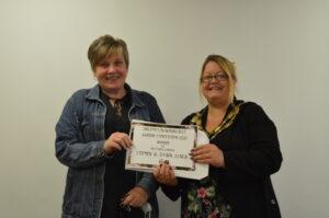 Shildon Blooming Best Garden Competition Presentation- Dawn and Stephen Jones