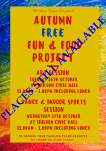 Image of Autumn Fun and Food Poster